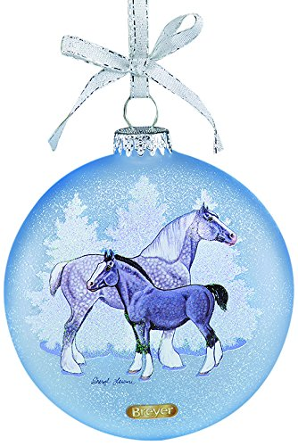 Breyer Artist Signature Draft Horses Ornament