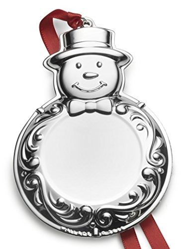 Wallace Engraveable Silver-Plated Christmas Holiday Ornament, 6th Edition,