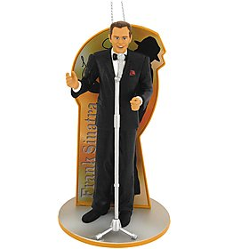 Frank Sinatra A Very Good Year 2010 Carlton Heirloom Ornament