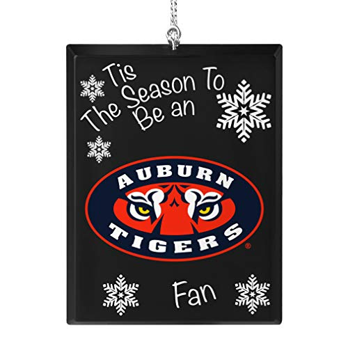 Topperscot Auburn Tigers Official NCAA Tis The Season Holiday Christmas Sign Ornament 675312