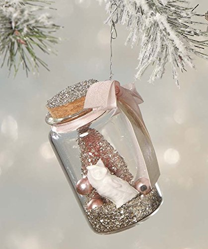 Bethany Lowe Designs Whimsy Glass Jar Ornament