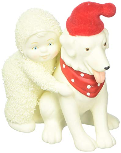 "Department 56 Snowbabies ""Best Friends"" Porcelain Hanging Ornament, 2.75"""