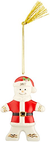 Lenox 2017 Ginger Claus Ornament