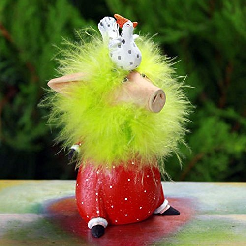 Patience Brewster Phyllis Pig Christmas Figural Ornament # 31080