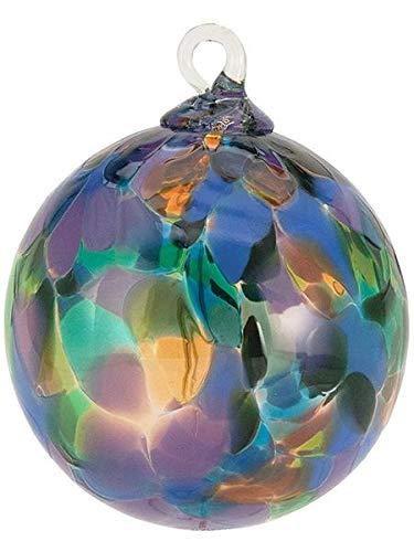 Glass Eye Studio Ornament – Classic Purple Mystique Orchid