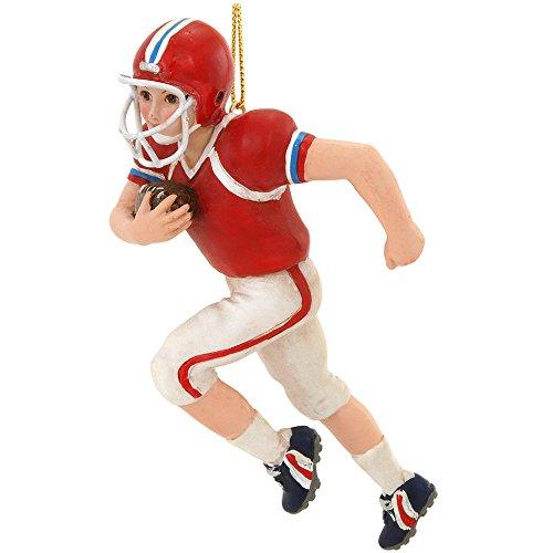 Kurt Adler 5-Inch Football Boy Christmas Ornament