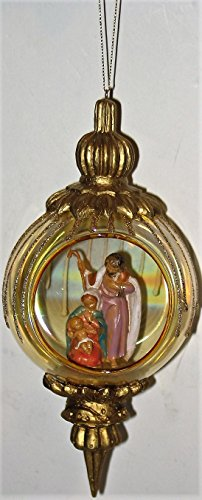 Holy Family Finial Ornament