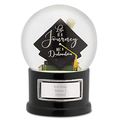 Things Remembered Personalized 2018 Graduate Hat Snow Globe with Engraving Included