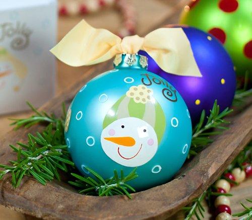 Jolly Snowmen Ornament by Coton Colors