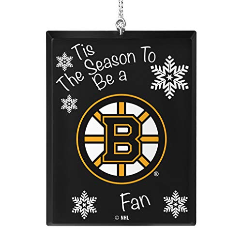 Topperscot Boston Bruins Official NHL Tis The Season Holiday Christmas Sign Ornament 675169