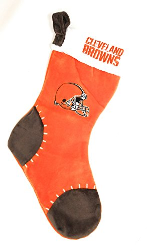 Cleveland Browns 2017 NFL Basic Logo Plush Christmas Stocking