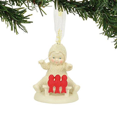 "Department 56 Snowbabies ""Tiny Chorus"" Porcelain Ornament, 2.48"""