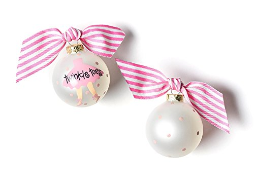 Coton Colors Twinkle Toes Ballet Glass Ornament