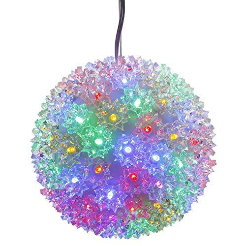 Vickerman Starlight Ornament LED Light Sphere (Renewed)