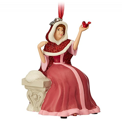 Disney Belle Singing Sketchbook Ornament – Beauty and The Beast