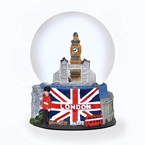 London England Snow Globe Color Exclusive 65mm