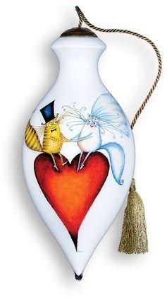 Ne'Qwa Art Romance Ornament By Artist Clare Mackie 388
