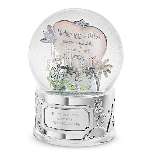Things Remembered Personalized Mom Musical Snow Globe with Engraving Included