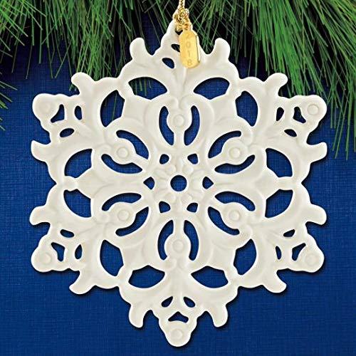 Lenox 2018 Snow Fantasies Snowflake PORCELAIN Ornament New in box