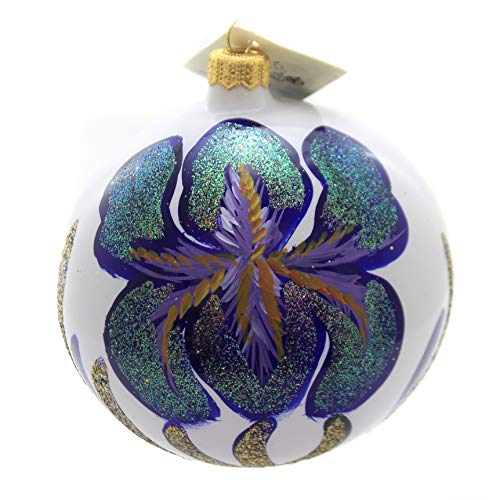 Christina's World Enormous IRIS Glass Ornament Spring Flower Sun164