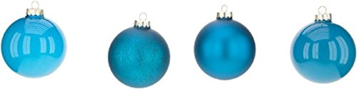 Mark Roberts Boxed Set of Four Christmas Ball Ornaments Buyer (Turquoise)