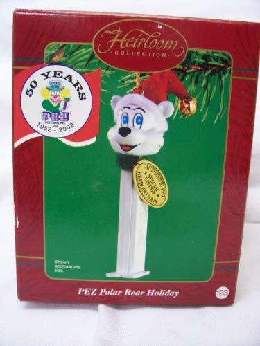Carlton Cards Heirloom Collection PEZ Polar Bear Ornament