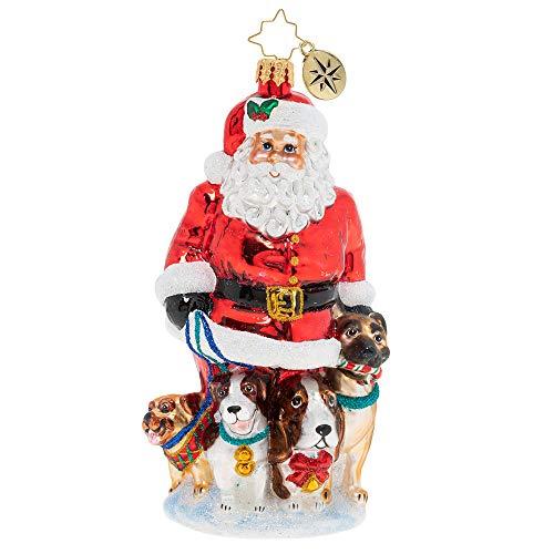 Christopher Radko Promenading Pups Christmas Ornament
