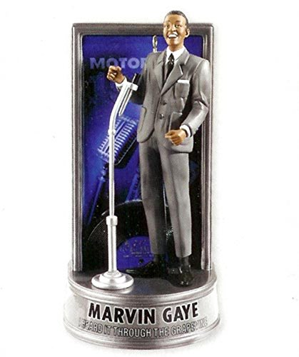 Carlton Cards Heirloom Marvin Gaye Musical Christmas Ornament