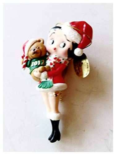 Betty Boop Dabury Mint 2012 Christmas Ornament