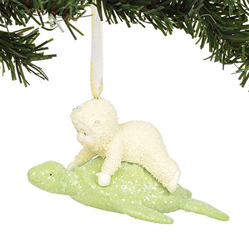 Department 56 Snowbabies Sea Turtle Hanging Ornament, 2.375″, Multicolor