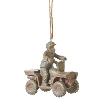 Midwest Muddy ATV Ornament