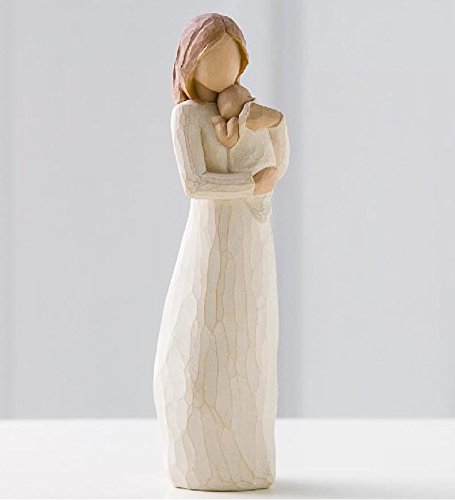 Willow Tree hand-painted sculpted figure, Angel of Mine (26124)