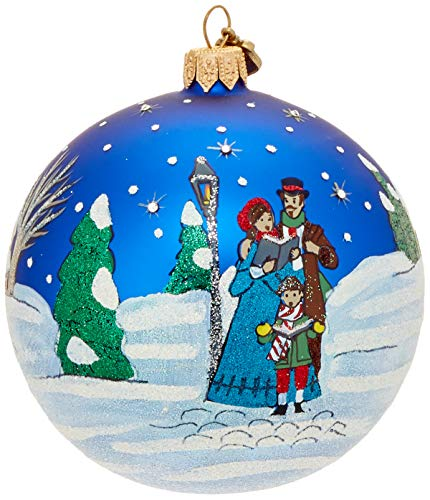 Reed & Barton Ornaments Classic Christmas Caroler's Ball Ornament