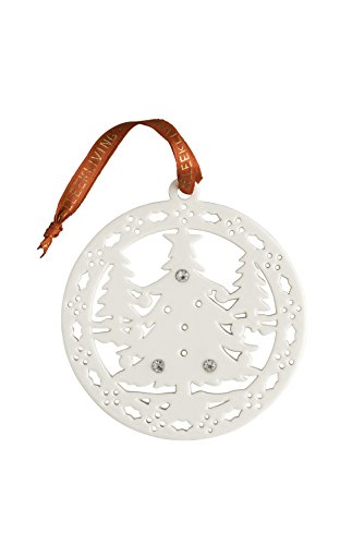 Belleek Christmas Forest Ornament