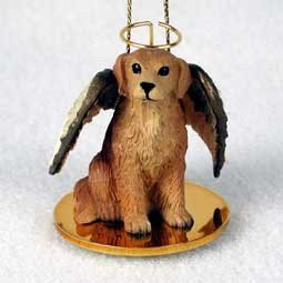 Golden Retriever Angel Dog Ornament by Conversation Concepts