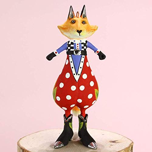 Patience Brewster Mini Phineas Fox Figural Ornament # 31210