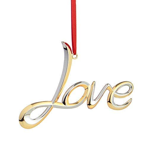 Nambe Love Christmas Ornament