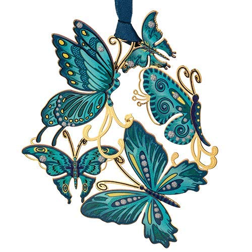 Beacon Design ChemArt Ornament – Breezy Butterfly Collage
