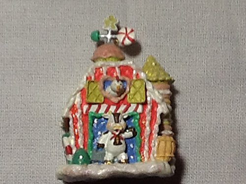 Gingerbread Farm Christmas Ornament, 3rd in Series