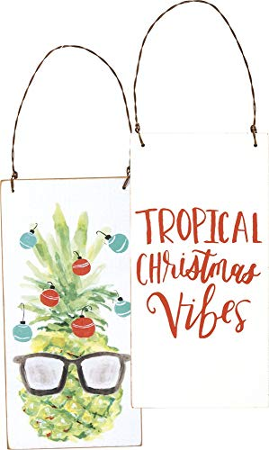 Primitives by Kathy Tropical Christmas Vibes Hanging Ornament
