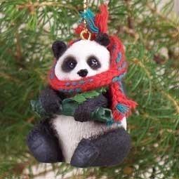 Panda Bear Ornament by Conversation Concepts