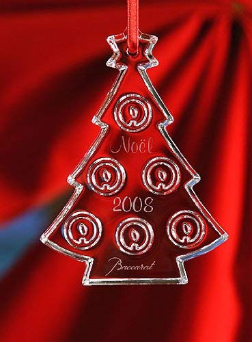 Baccarat Crystal Annual Ornament 2008