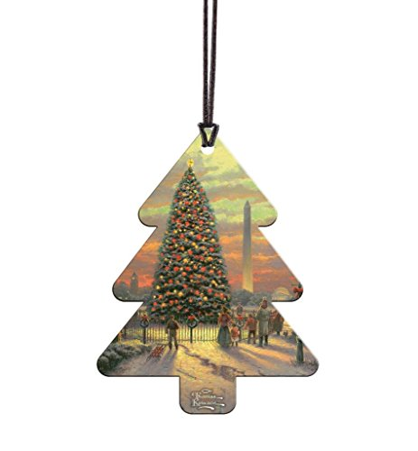 Trend Setters Thomas Kinkade Symbols of Freedom Tree Shaped Hanging Acrylic