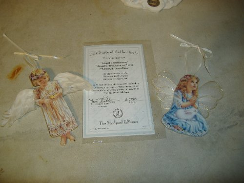 "Heaven's Little Angels Ornament Collection 3rd Set – ""Angel's Guidance"", ""Angle's Tenderness"", & ""Nature's Guardian"""