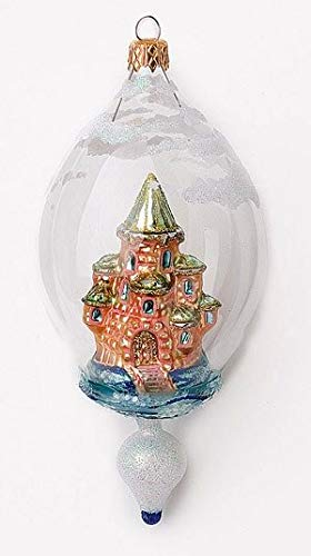 Christina's World Castle in Dome – Blown Glass Ornament