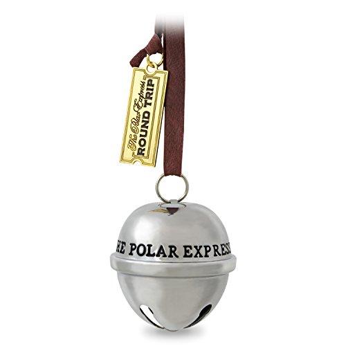 Hallmark Keepsake 2017 THE POLAR EXPRESS Santa's Sleigh Bell Dated Christmas Ornament