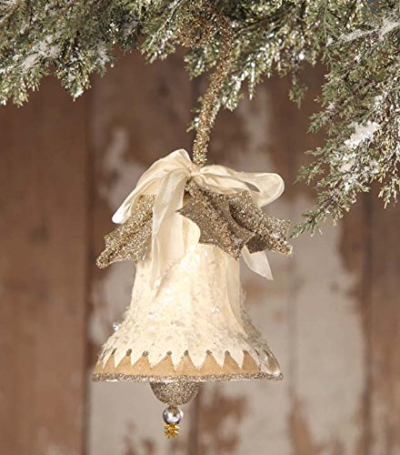 Bethany Lowe Vintage Style Paper Bell Ornament