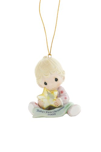 "Precious Moments ""Baby's First Christmas 2009"", Girl, Christmas Ornament"