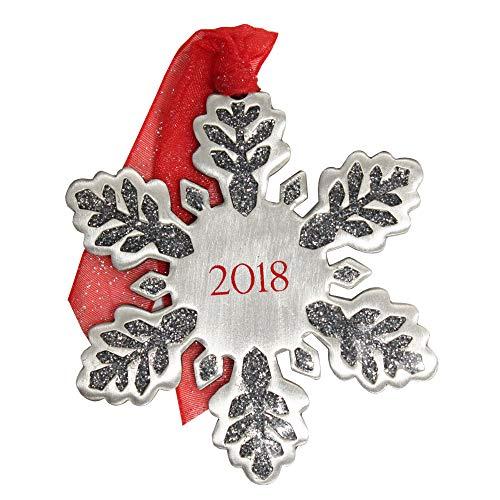 Gloria Duchin Dated Snowflake Christmas Ornament, Multi
