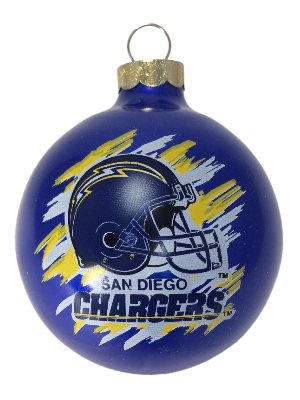 Topperscot San Diego Chargers Ball Ornament